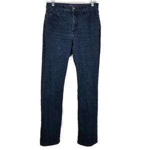 NYDJ Straight Blue Jeans